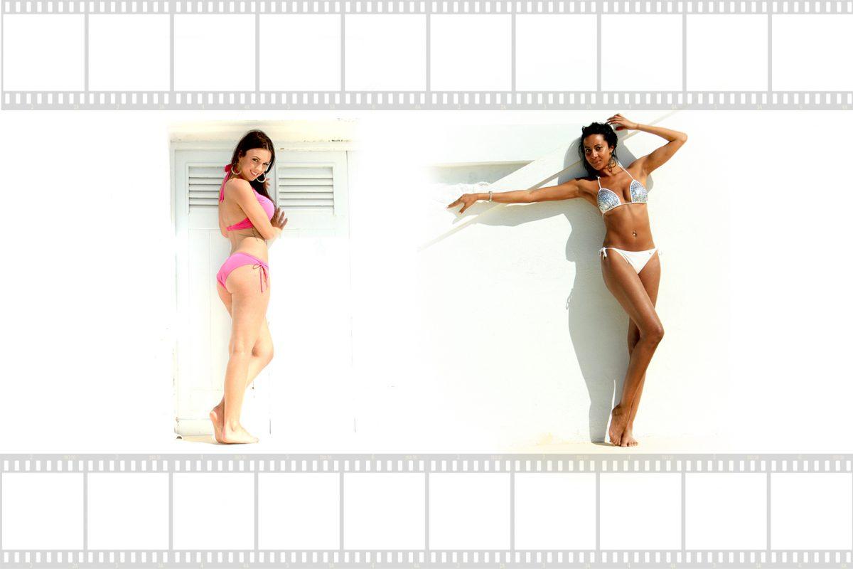 Sarah ann and kirstie beach set